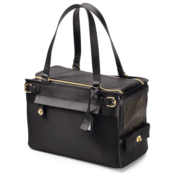 Miranda Dog Carrier Black Luxury Dog Carriers At