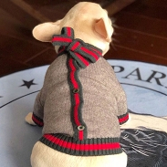 Kingston Grey Dog Sweater
