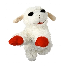 Lamb Chop Squeaky Dog Toy