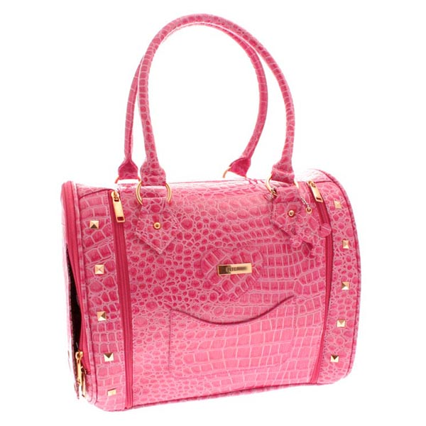 Legally Blonde Bruiser Bag Pet Carrier Fuchsia Pink