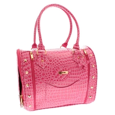 Legally Blonde Bruiser Bag Pet Carrier - Fuchsia Pink