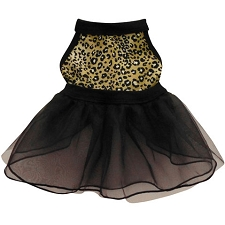 Leopard Ballerina Tulle Dog Dress