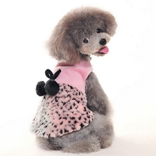 Leopard Girl Dog Dress