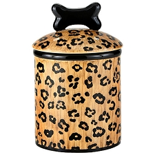 Leopard Spot Treat Jars