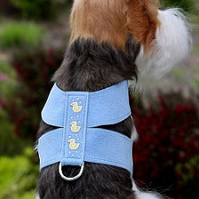 Lil Ducky Swarovski Crystal Dog Harness - 20 Colors
