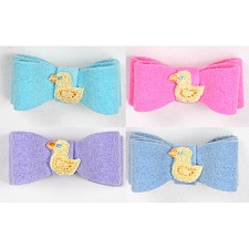 Lil Ducky Ultrasuede Hair Bow- 20 Colors