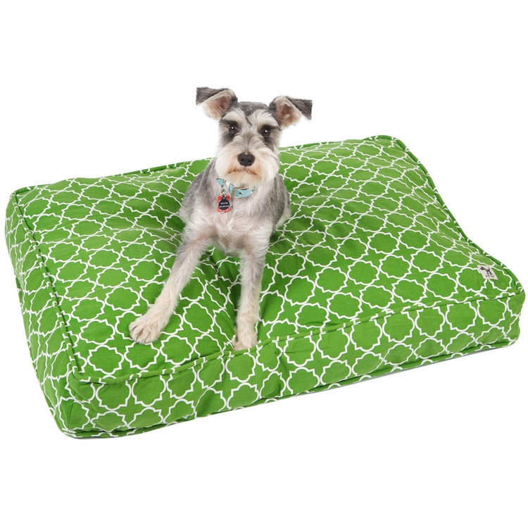 Lime Lattice Diy Dog Duvet By Molly Mutt Cute Dog Beds
