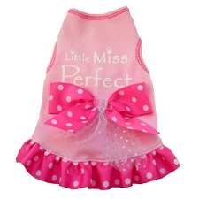 Little Miss Perfect Pink Dog Dress