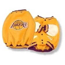 Los Angeles Lakers Dog Jacket