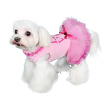 Love Pink Party Dog Dress