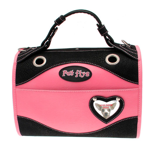 Madame Butterfly Pink Dog Carrier  87e99949c7