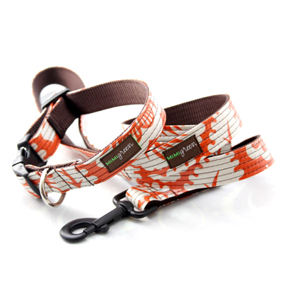 Designer Dog Collars and Leashes