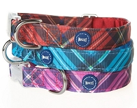 Plaid Dog Collar by Mascot