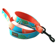 Media Naranja Oilcloth Dog Leash
