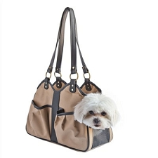 Metro Classic Dog Carrier by PETote - Tan