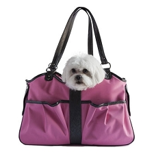 Metro Classic Dog Carrier by PETote - Pink