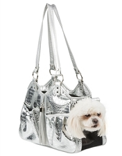 Metro Silver Gator Carrier with Tassel