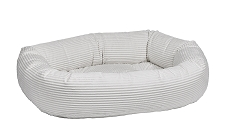 Microcord Donut Dog Bed- Marshmallow