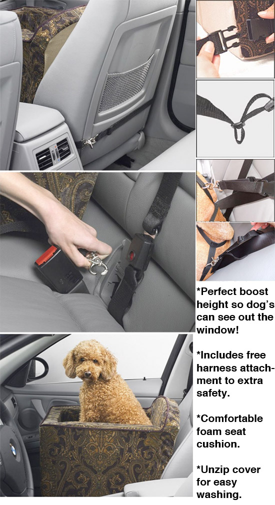 Pet Travel Booster Seat for Cars