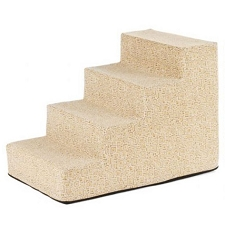 Luxury Microvelvet Pet Steps - Mosaic Sandstone