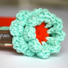 Collar Flower by Mimi Green - Fresh Mint