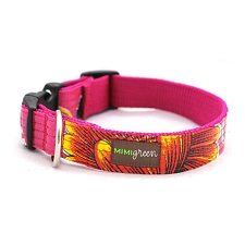 La Fuega Oil Cloth Dog Collar