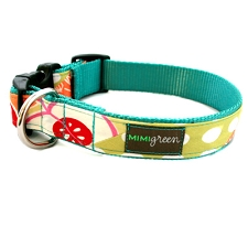 Apple Dog Collar by Mimi Green