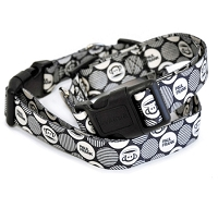 Julius Mod Dots Dog Collar by Paul Frank