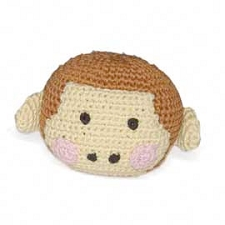 Monkey Cotton Knit Dental Dog Toy