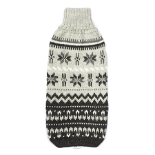 Nordic Dream Handknit Alpaca Dog Sweater