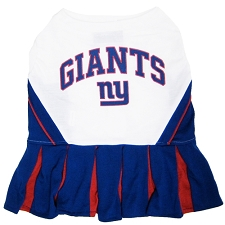 New York Giants Cheerleader Dog Dress