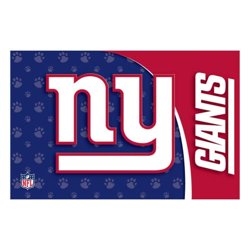 New York Giants Pet Mat Offically Licensed Nfl Pet Gear At Glamourmutt Com