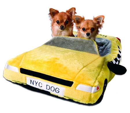 New York City Taxi Cab Dog Bed By Haute Diggity Dog
