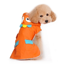 Orange Monster Rain Coat