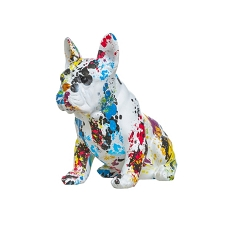 Paint Splash Frenchie Dog Bank