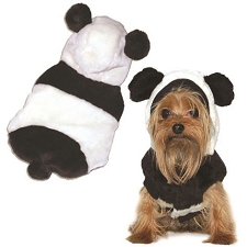 Panda Bear Dog Coat with Ears
