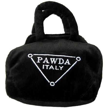 Pawda Purse Dog Toy Designer Dog Boutique At Glamourmutt Com