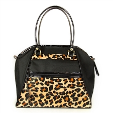 Petote Haylee Dog Carrier- Leopard