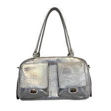 Marlee Dog Carrier- Ice Croco