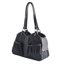 Metro Classic Dog Carrier by PETote - Black Sable