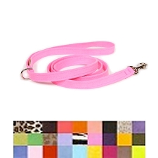 Ultrasuede Dog Leashes by Susan Lanci - 30 Colors