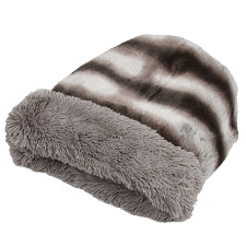 Cuddle Cup Dog Bed -Platinum Chinchilla Shag