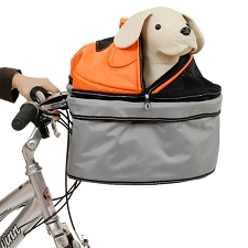 Pet Pod Multifunctional Dog Carrier- Silver Orange