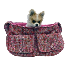 Pretty in Pink Snuggle Sack Dog Carrier