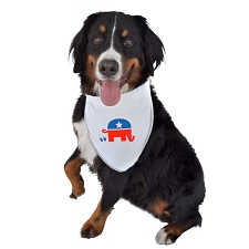 Republican Dog Bandana