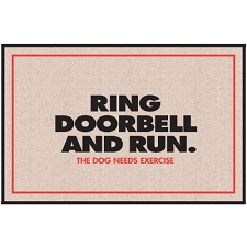 Ring Doorbell and Run - Doormat