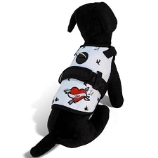 Rockabilly Love Dog Harness