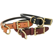 Handcrafted Rolled Leather Combo Collars - Classic Colors