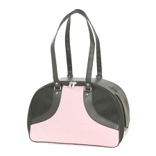 Roxy Dog Carrier by PETote - Pink and Black