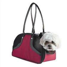 Roxy Dog Carrier by PETote - Red and Black